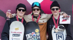 Derungs and Boesiger Swiss big air champs
