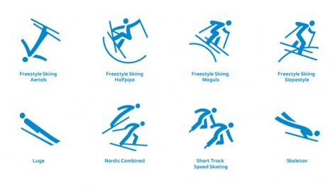 PyeongChang 2018 launches pictograms